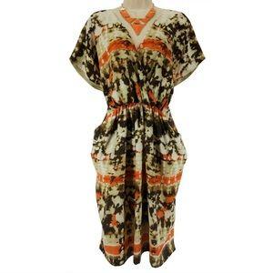 Size 10 NWT▪️VINCE CAMUTO TIE-DYE POCKET DRESS